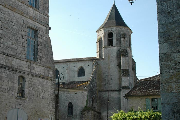 Histoire-Eglise-Issigeac